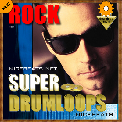 Product picture NiceBytes ROCK DrumLoops (AppleLoops for GarageBand | Logic)
