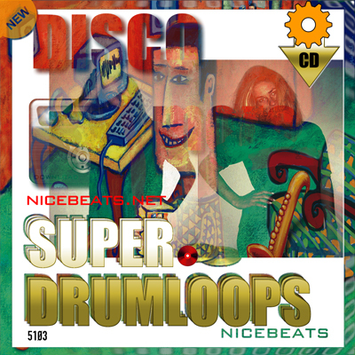 Product picture NiceBytes DISCO DrumLoops (AppleLoops for GarageBand | Logic