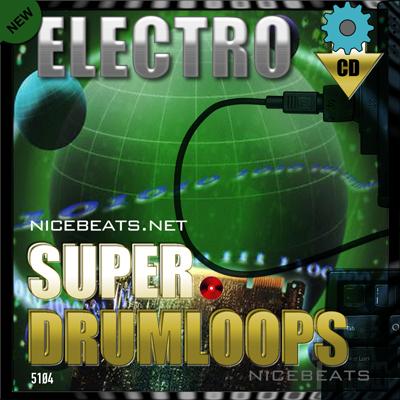Product picture NiceBytes ELECTRO DrumLoops (AppleLoops for GarageBand | Log