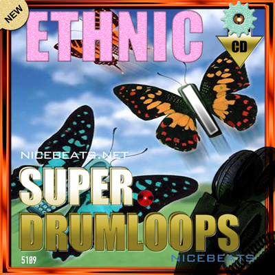 Product picture NiceBytes ETHNIC DrumLoops (AppleLoops for GarageBand | Logic)