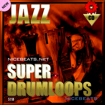 Product picture NiceBytes JAZZ DrumLoops (AppleLoops for GarageBand | Logic)