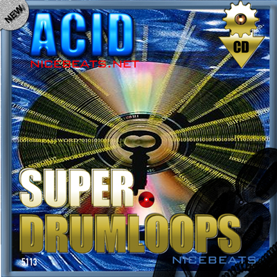Product picture NiceBytes ACID DrumLoops (AppleLoops for GarageBand | Logic)