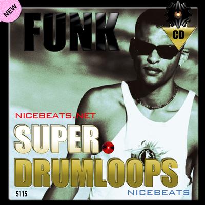 Product picture NiceBytes FUNK DrumLoops (AppleLoops for GarageBand | Logic)