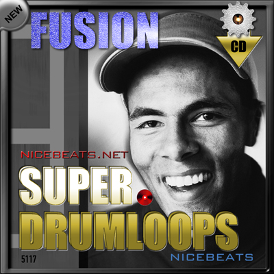 Product picture NiceBytes FUSION DrumLoops (AppleLoops for GarageBand | Logic)