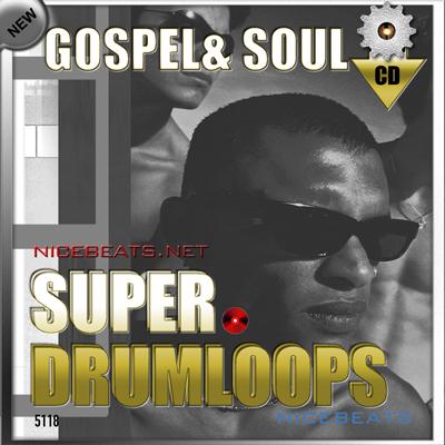 Product picture NiceBytes GOSPEL & SOUL DrumLoops (AppleLoops for GarageBand | Logic)