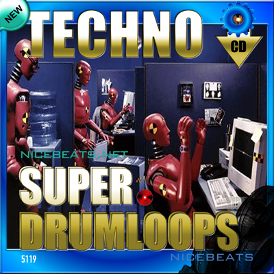 Product picture NiceBytes TECHNO DrumLoops (AppleLoops for GarageBand | Logic)