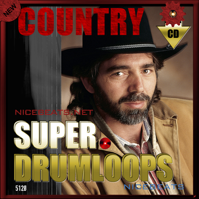 Product picture NiceBytes COUNTRY DrumLoops (AppleLoops for GarageBand | Logic)